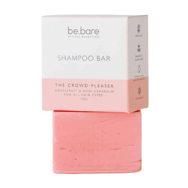 Be Bare The Crowd Pleaser Shampoo Bar, Anadea