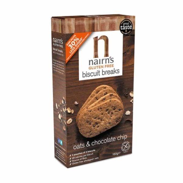 Chocolate Chip Biscuit Breaks Gluten Free, Anadea