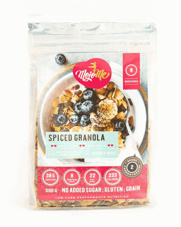 MojoMe™ Spiced Nut Baked Granola, Anadea