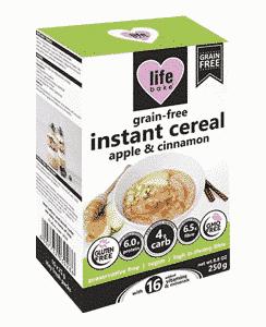 Grain-Free Instant Cereal Apple & Cinnamon, Anadea