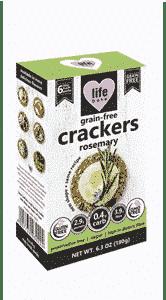 Grain-Free Crackers Rosemary, Anadea