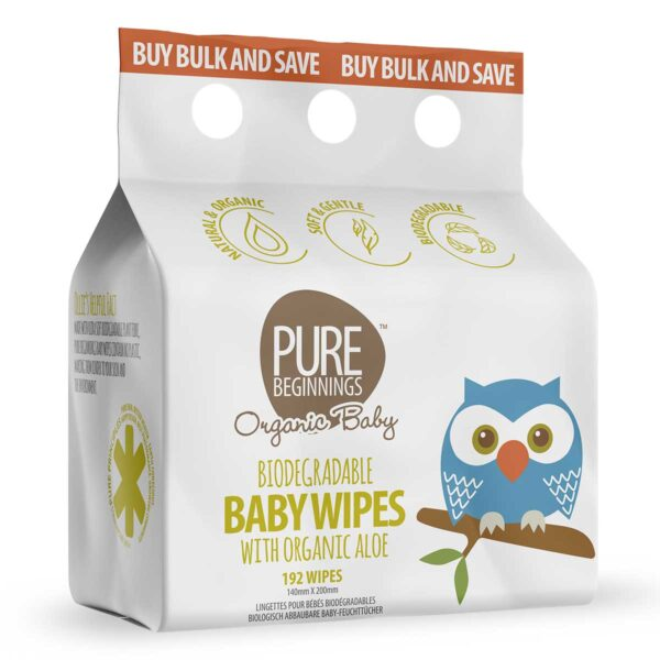 Baby Wet Wipes 3 Pack, Anadea