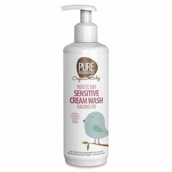 Probiotic Baby Sensitive Cream Wash, Anadea