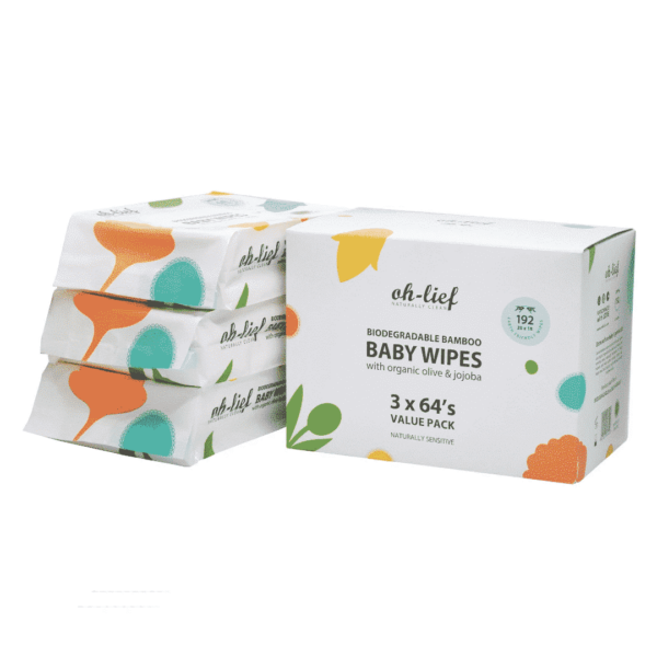 Wet Wipes 3 Pack, Anadea