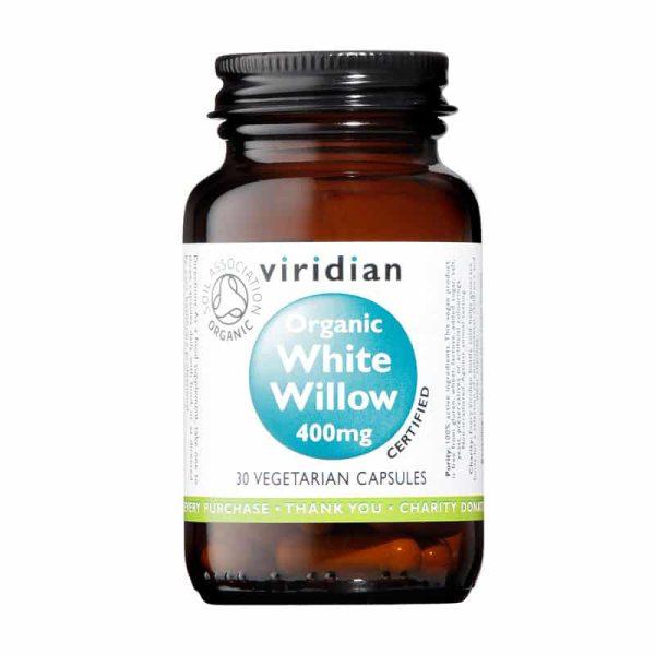 Organic White Willow 400mg 30's, Anadea