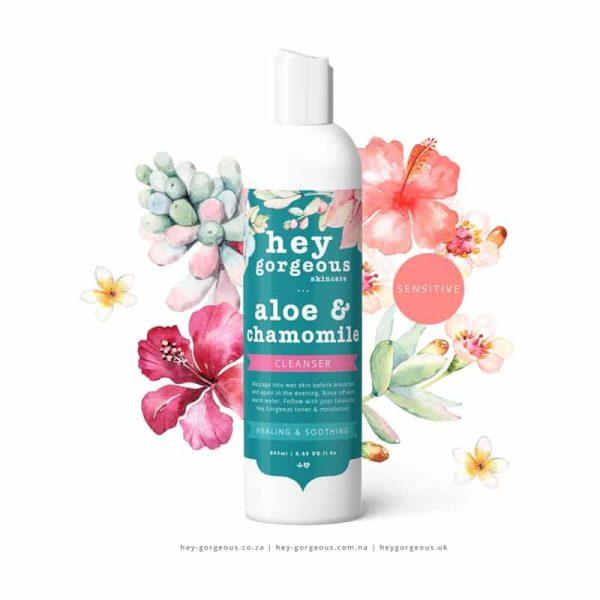 Aloe & Chamomile Soothing Face Wash, Anadea