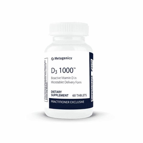 Daily D3 1000 Tablets, Anadea