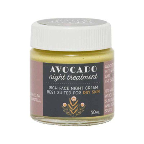 Avocado & Geranium Nourishing Night Crème, Anadea
