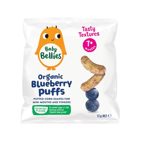 Organic Blueberry Puffs, Anadea