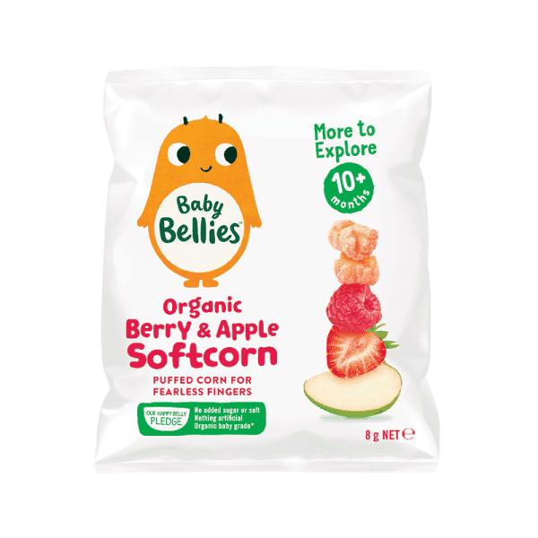 Organic Berry & Apple Soft Corn, Anadea