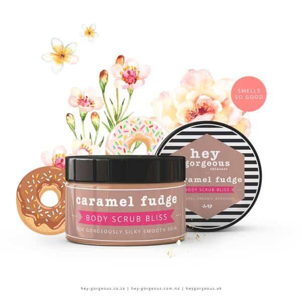 Caramel Fudge Body Scrub, Anadea