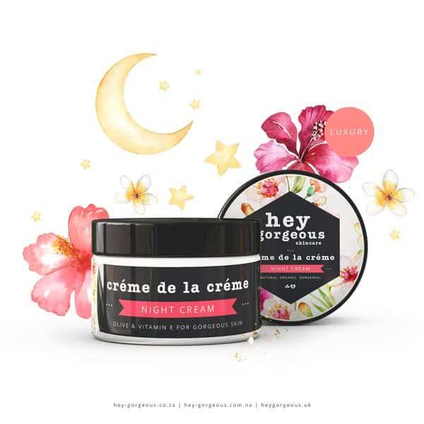 Creme De La Creme Olive & Vitamin E Night Cream, Anadea