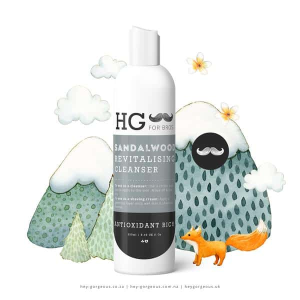 HG For Bros Sandalwood Cleanser, Anadea