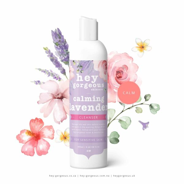 Lavender Cleanser For Normal Sensitive Skin, Anadea