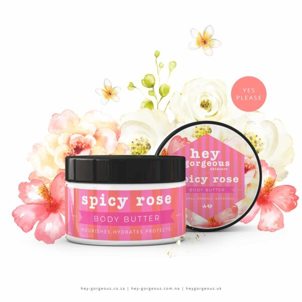 Spicy Rose Body Butter, Anadea