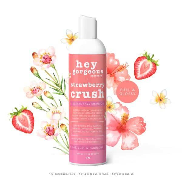 Strawberry Crush Shampoo, Anadea
