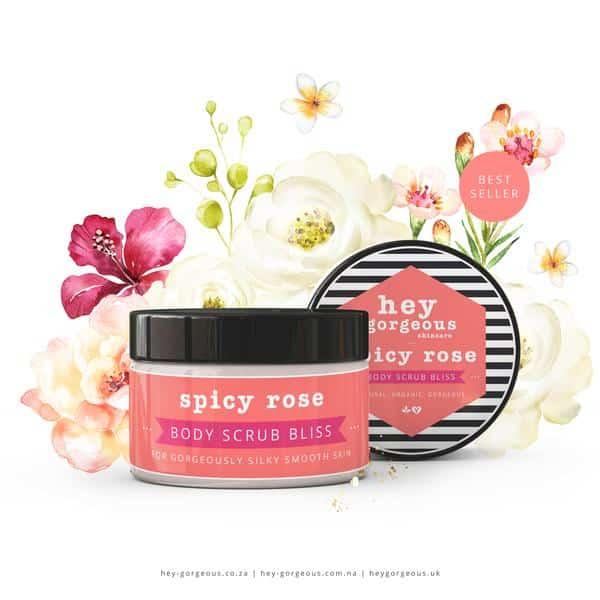 Spicy Rose Body Scrub, Anadea