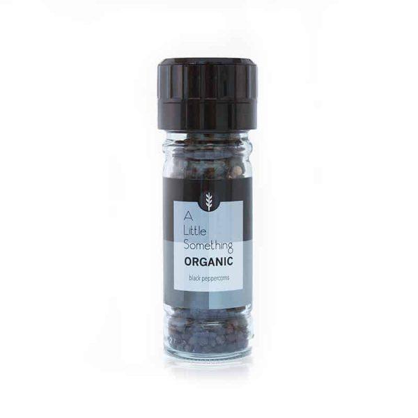Organic Black Peppercorn Grinder, Anadea