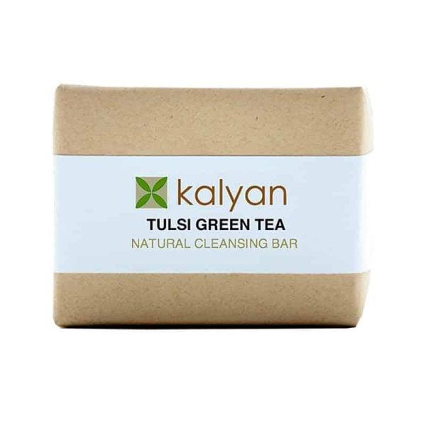 Tulsi and Green tea Soap Bar, Anadea