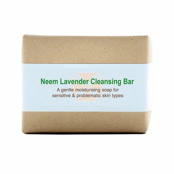 Neem Lavender Soap Bar, Anadea