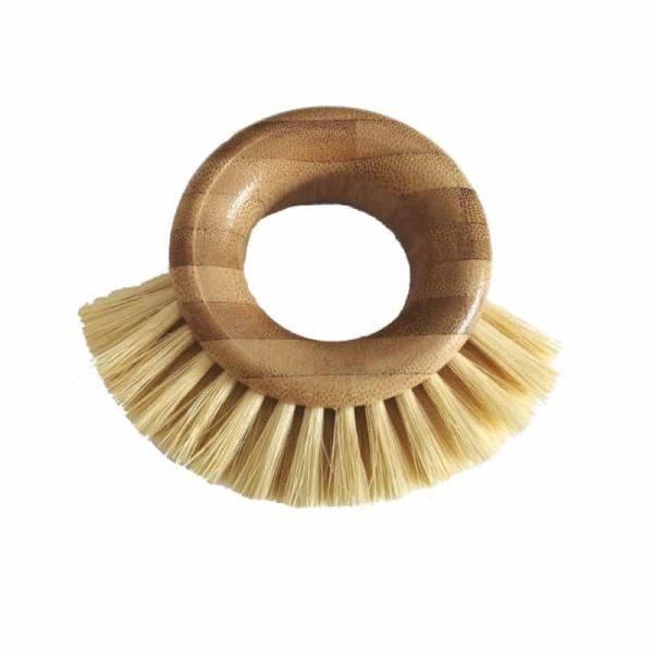 Bamboo & Sisal Scrubbing Ring Brush, Anadea