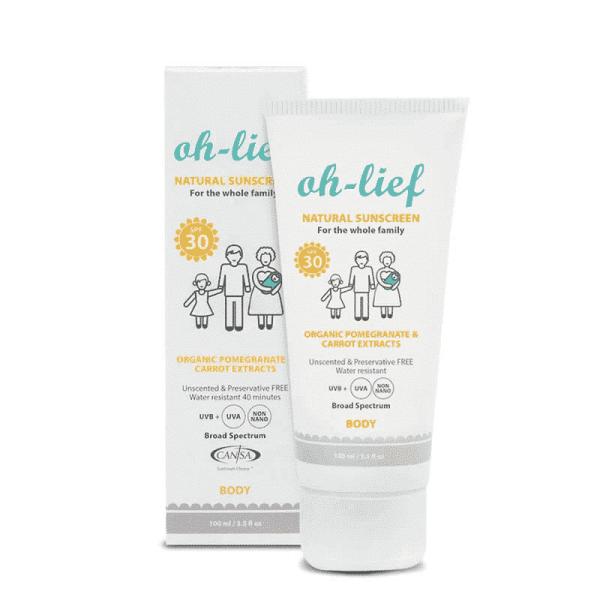 Natural Sunscreen Body SPF30, Anadea