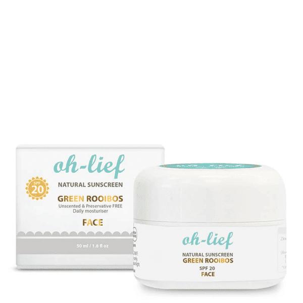 Natural Sunscreen Face Daily SPF20, Anadea