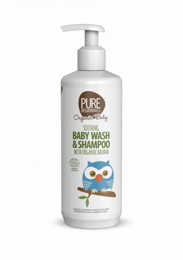 Soothing Baby Wash & Shampoo Organic Baobab, Anadea