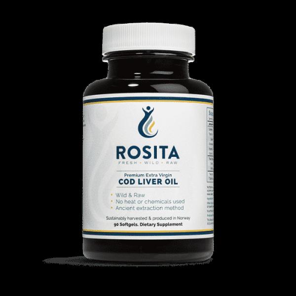 Rosita Extra-Virgin Cod Liver Oil Softgel, Anadea