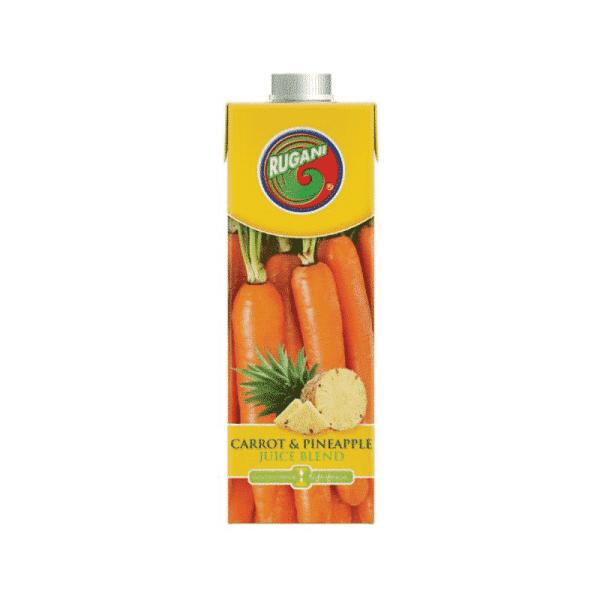 100% Carrot & Pineapple Juice 750ml, Anadea