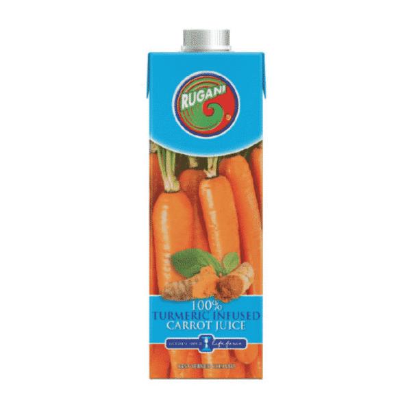 100% Carrot & Turmeric Juice 750ml, Anadea