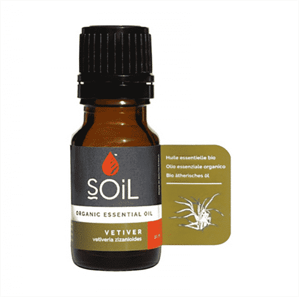 Vetiver Organic Essential Oil, Anadea