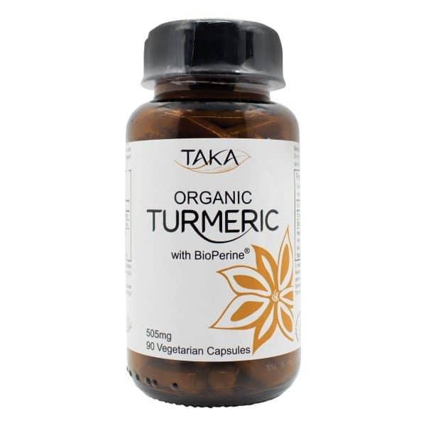 Turmeric & Bioperin Capsules, Anadea
