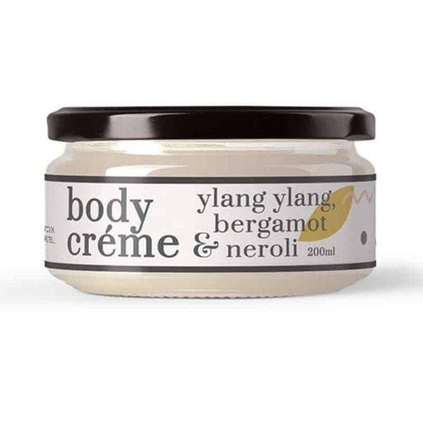 Ylang Ylang, Bergamot & Neroli Body Crème, Anadea