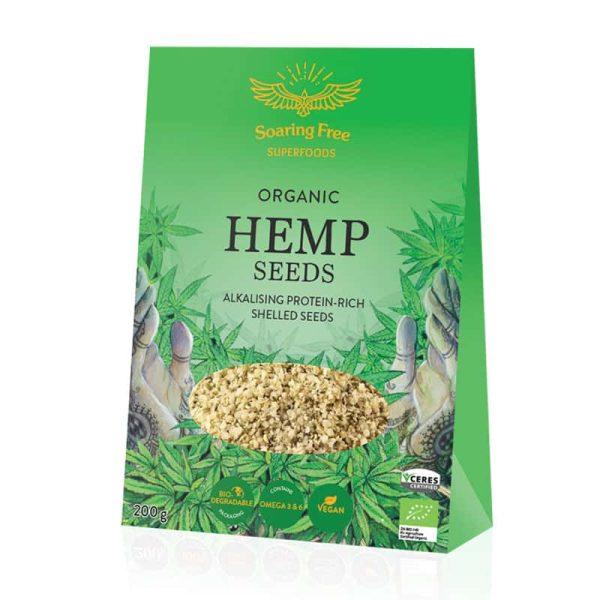 Hemp Seeds Shelled Organic, Anadea