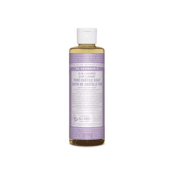 Lavender Pure Castille Liquid Soap, Anadea
