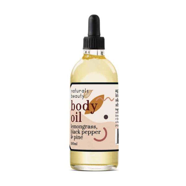 Lemongrass Body Oil, Anadea