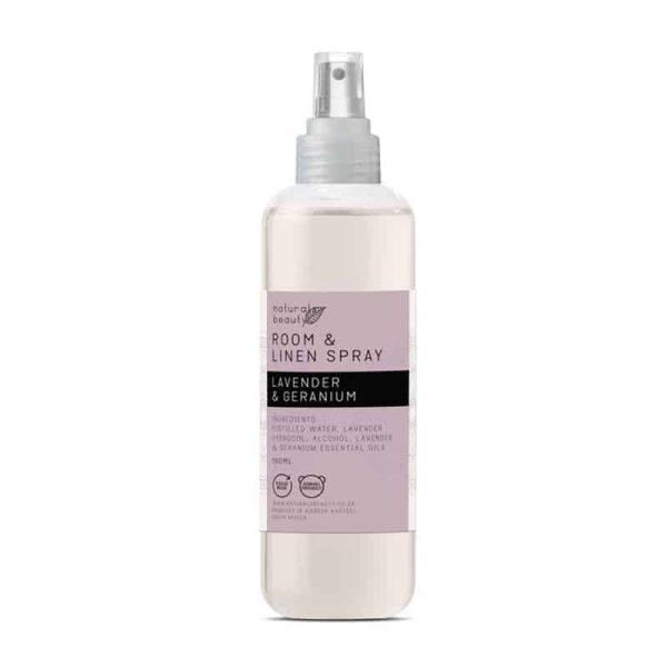 Lavender & Geranium Room & Linen Spray, Anadea