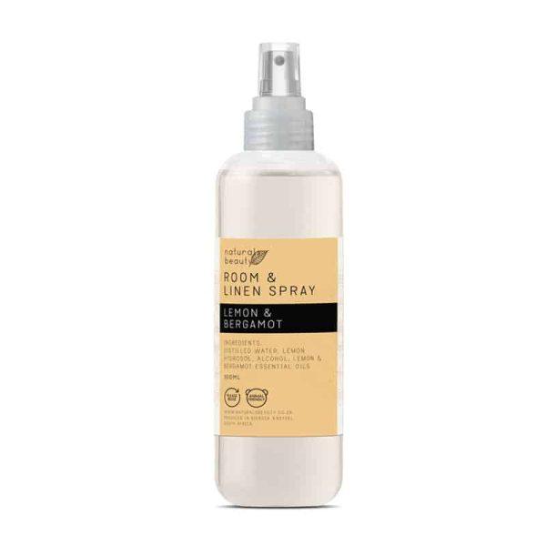 Lemon & Bergamot Room & Linen Spray, Anadea