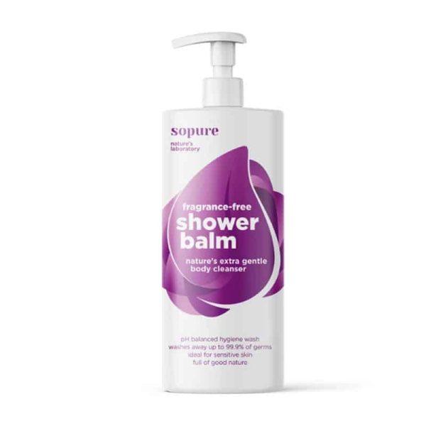 Shower Balm Fragrance-Free Body Wash, Anadea