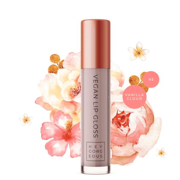 Vanilla Cloud Vegan Lip Gloss 5, Anadea