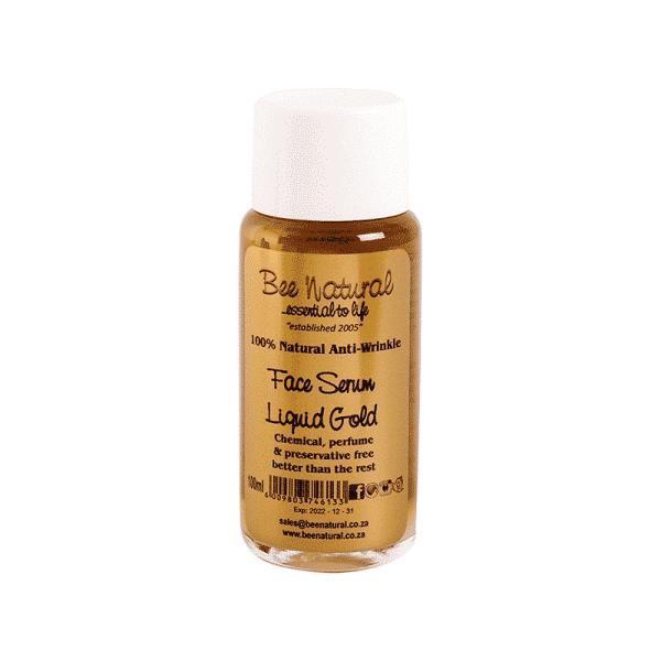 Liquid Gold Anti Wrinkle Face Serum, Anadea