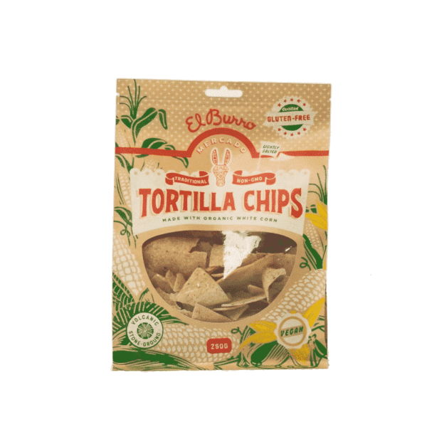 Organic White Corn Chips, Anadea