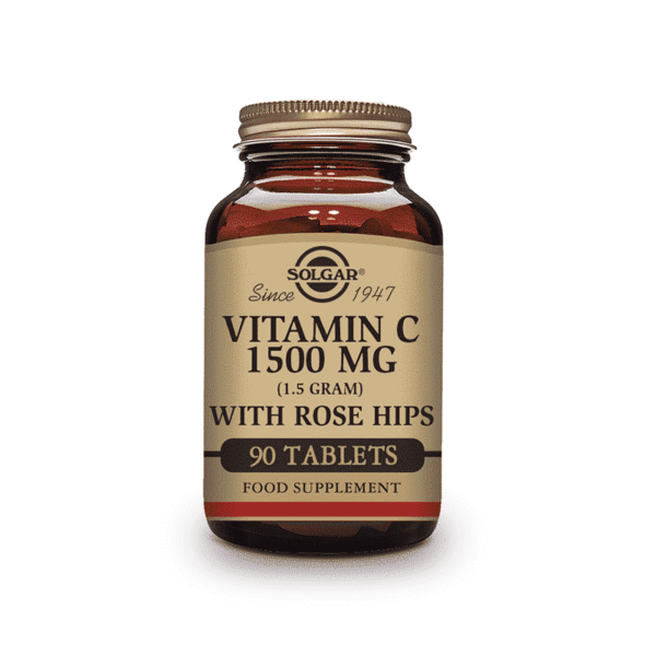 Vitamin C with Rose Hip 1500mg, Anadea