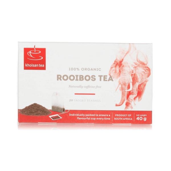 Organic Rooibos 20 Tea Bags, Anadea