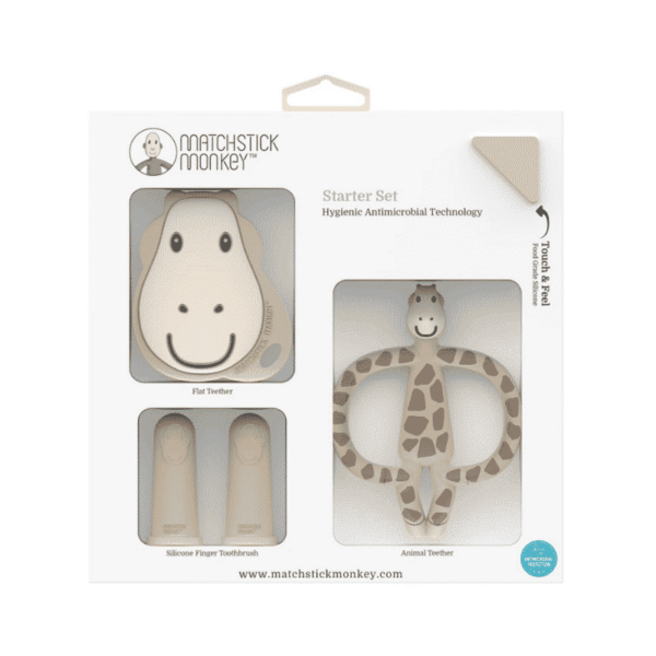 Giraffe Teething Starter Set, Anadea