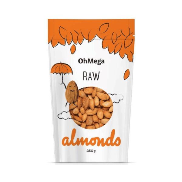 Raw Almonds 250g, Anadea