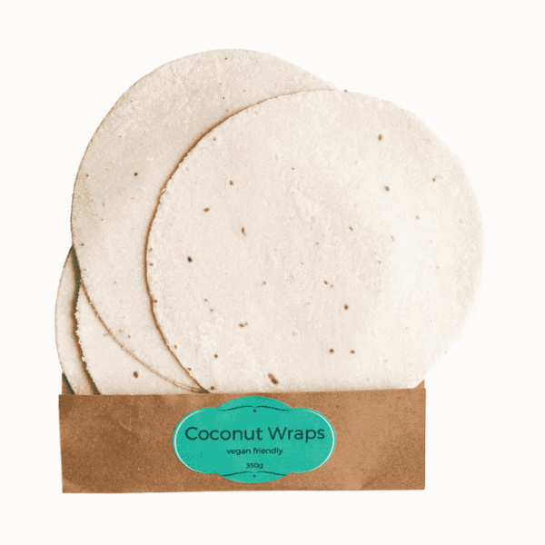 Coconut Wraps Gluten-Free 6-Pack, Anadea