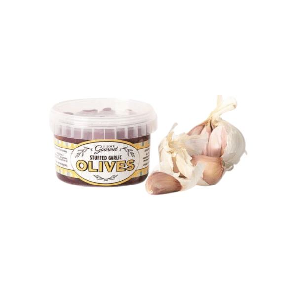 Garlic Stuffed Olives 250ml, Anadea
