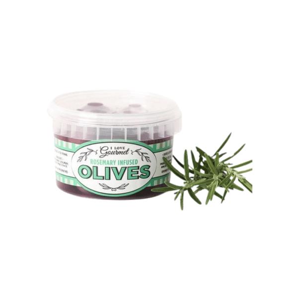 Rosemary Infused Olives 250ml, Anadea